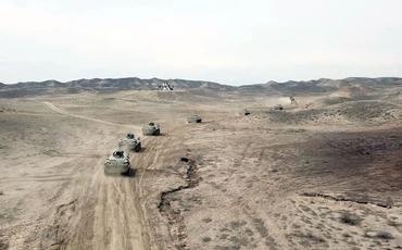 Azərbaycan Ordusunda ZTR ekipajlarının döyüş hazırlığı yüksəldilir