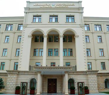 MN: Ermənistan silahlı qüvvələri yeni humanitar atəşkəs rejimini pozmaqda davam edir
