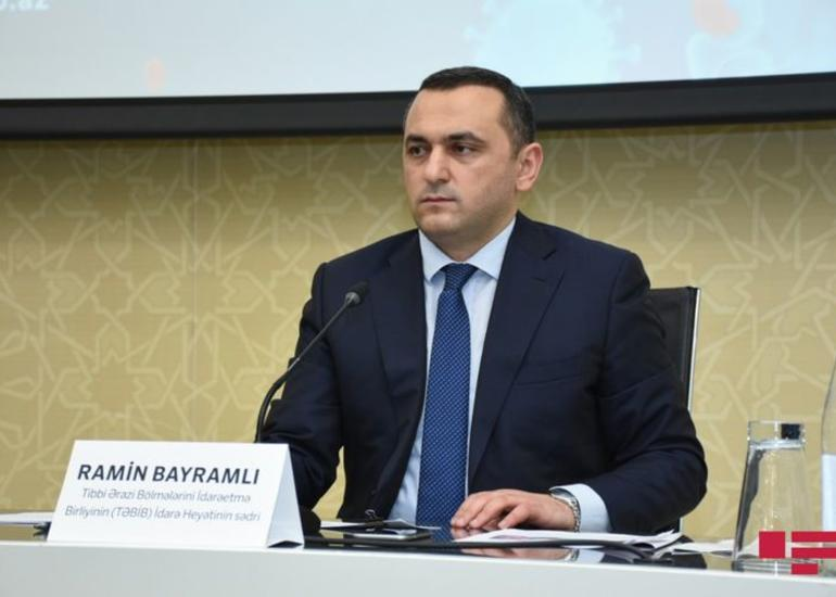 """Ramin Bayramlı: """"Şənbə və bazar günləri məhdudiyyətlərin tətbiqi yenə gündəmdədir"""""""