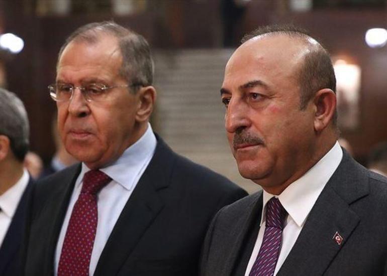 Türkiyə və Rusiya XİN başçıları arasında telefon danışığı olub