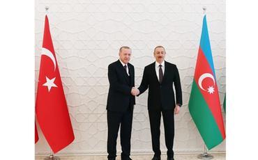 Prezident İlham Əliyev Ərdoğana təşəkkür edib