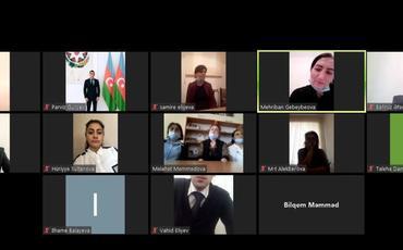 Ombudsmanın Quba Regional Mərkəzi videokonfrans vasitəsilə maarifləndirici tədbir keçirib