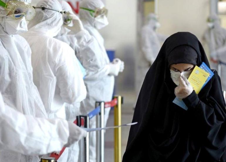 İranda koronavirusa yoluxanların sayı iki milyonu ötüb