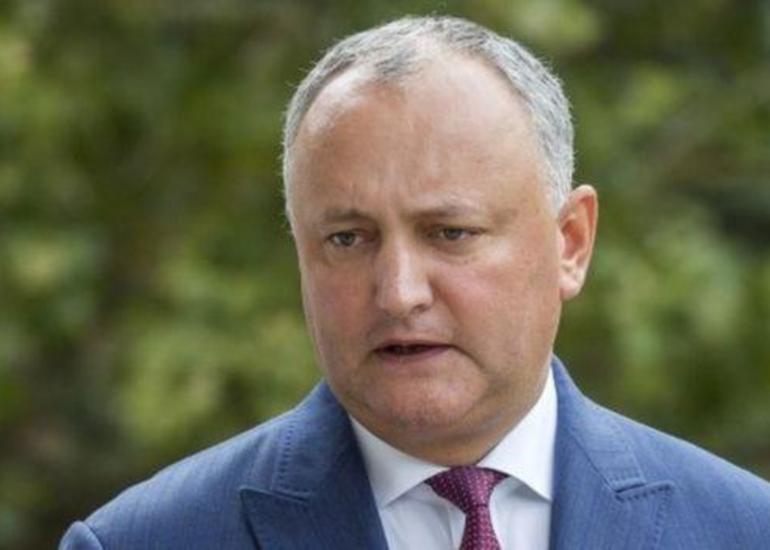 Moldovanın dövlət başçısı Prezidenti İlham Əliyevə təbrik məktubu göndərib