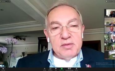 Türk Dünyası ilə bağlı videokonfrans