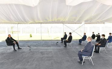 """Dövlət başçısı: """"2018-ci ilə qədər 20 il ərzində Ermənistana cinayətkarlar rəhbərlik ediblər"""""""