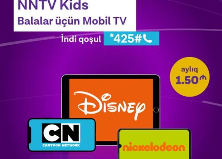 """Azercell uşaqlar üçün """"Mobil TV"""" xidmətini istifadəyə verib"""