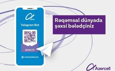 """Azercell """"Telegram Bot"""" xidmətini təqdim edib"""
