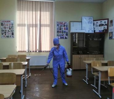 TƏBİB: Məktəblərdən xəstəxana kimi istifadə edilməsinə ehtiyac yoxdur