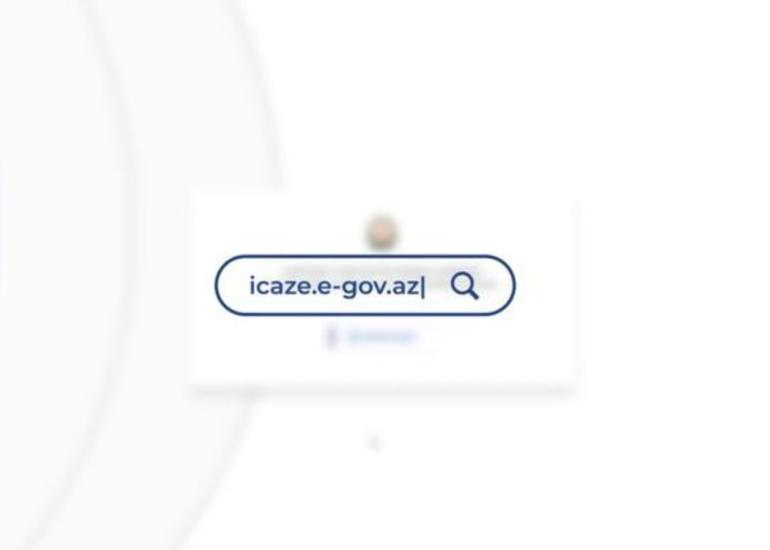 icaze.e-gov.az portalı yenidən aktivləşdirilib