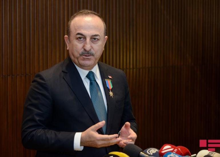 """Çavuşoğlu: """"Türkiyə pandemiya başlayandan 125 ölkəyə dəstək verib"""""""