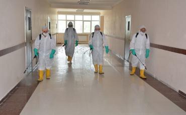 Buraxılış imtahanlarının keçiriləcəyi məktəblər dezinfeksiya edilib