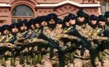 Azərbaycan hərbçiləri Moskvadakı paradda iştirak edib
