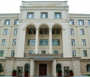 MN: Ordumuzun Ermənistanla sərhəd zastavanı minaatanlardan atəşə tutması ilə bağlı yayılan məlumat dezinformasiyadır