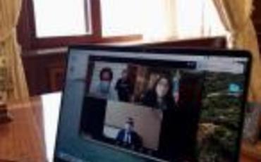 Sahibə Qafarova videokonfrans formatında seçicilərin növbəti qəbulunu keçirib
