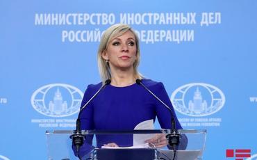 """Zaxarova: """"Rusiya heç vaxt """"Taliban""""a silah verməyib"""""""