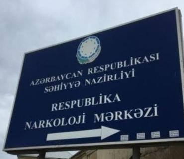 Respublika Narkoloji Mərkəzində stasionar müalicəyə qəbul olunan xəstələrin sayı açıqlanıb