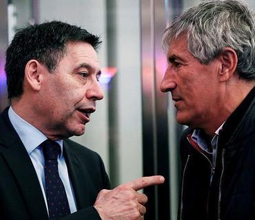 """""""Barselona""""nın prezidenti Kike Setyenin istefaya göndəriləcəyi xəbərini təkzib edib"""