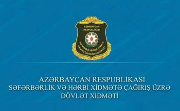 Dövlət Xidməti: Ehtiyatda olan Azərbaycan gəncləri könüllü döyüşə getmək üçün çoxsaylı müraciətlər ediblər