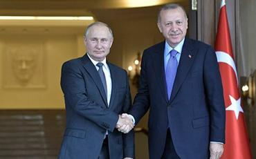 Ərdoğanla Putin Liviya və Suriya münaqişələrini müzakirə ediblər