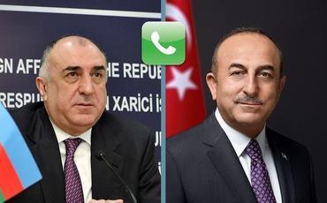 Azərbaycan və Türkiyə Xarici İşlər nazirləri arasında telefon danışığı olub
