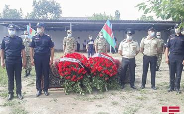 Azərbaycan Ordusunun şəhid olan hərbçisi Vüqar Sadıqovla vida mərasimi keçirilir