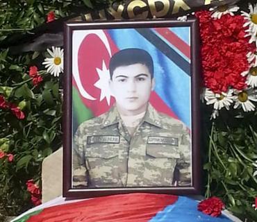 Azərbaycan Ordusunun şəhid olan əsgəri İsmayıllıda dəfn edilib