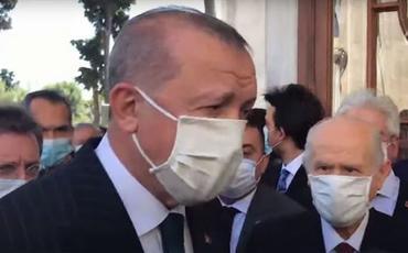 """Ərdoğan: """"Aya Sofyada qılınan cümə namazında 350 min nəfər iştirak edib"""""""