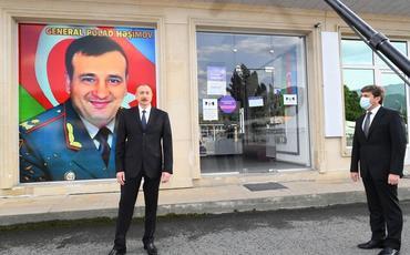 Prezident İlham Əliyev general Polad Həşimovun xatirəsinin əbədiləşdirilməsi üçün tapşırıq verib