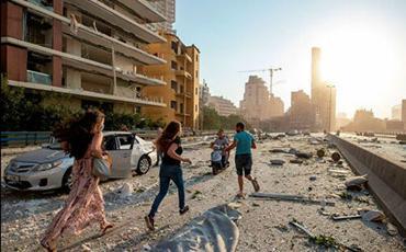 Beyrutdakı partlayışda 3 erməni ölüb, 100-ə yaxın erməni isə xəsarət alıb