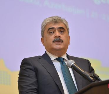 """Samir Şərifov: """"ÜDM-nin düşməsinin 5%-dən az olmayacağını proqnozlaşdırırıq"""""""