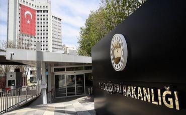 Türkiyə XİN: Misir və Yunanıstan arasında imzalanan saziş Türkiyə üçün etibarsızdır