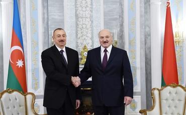 Prezident İlham Əliyev Alekdsandr Lukaşenkonu prezident seçilməsi münasibətilə təbrik edib