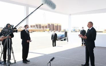 """Prezident İlham Əliyev: """"Şahdəniz"""" qazı Gürcüstan, Türkiyə, Bolqarıstan, Yunanıstan və İtaliyaya çatdırılacaq"""""""