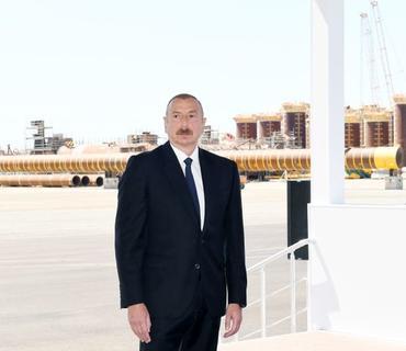 """Azərbaycan Prezidenti: """"Hesab edirəm ki, 2022-ci ilin sonunda """"Qarabağ"""" yatağından ilk qaz və ilk neft çıxarılmalıdır"""""""