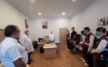Çindən Azərbaycana gələn tibb ekspertləri payız-qış mövsümünə hazırlıqla tanış olublar