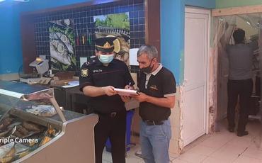 Abşeronda sanitar-karantin qaydalarını pozan 28 nəfər cərimələnib