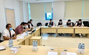 """""""Yeni Klinika""""da Çindən gələn nümayəndə heyətinin iştirakı ilə videokonfrans keçirilib"""