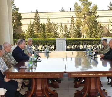 Prezident İlham Əliyev: Bu təlimlər bəzi ölkələrdə narahatlıq doğurur
