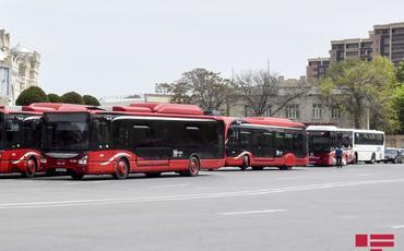 BNA: Həftəsonu müntəzəm və ekspres xətlər üzrə avtobusların fəaliyyəti dayandırılacaq