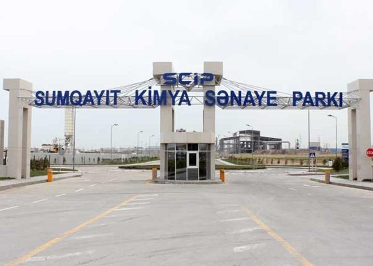 Sumqayıt Kimya Sənaye Parkına 245 mln. dollardan çox investisiya yatırılacaq