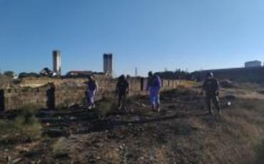 Bakıda taxıl kombinatının ərazisində raket aşkarlanıb