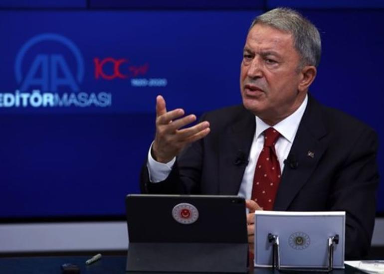 """Türkiyənin Müdafiə naziri: """"Ermənistan başından böyük işlərə girişib"""""""