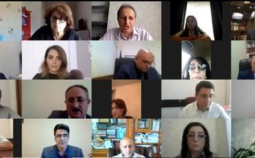 İnsan Hüquqları Komitəsi QHT-lərlə video-konfrans keçirib