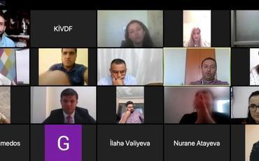 KİVDF-nin təşkilatçılığı ilə jurnalistlər üçün onlayn təlim keçirildi