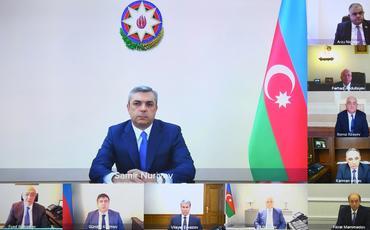 Azərbaycan Respublikasının Korrupsiyaya qarşı mübarizə üzrə Komissiyasının yeni tərkibdə ilk iclası keçirilib