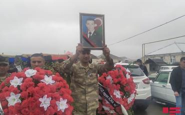 Azərbaycan Ordusunun şəhid olan hərbçisi dəfn edilib