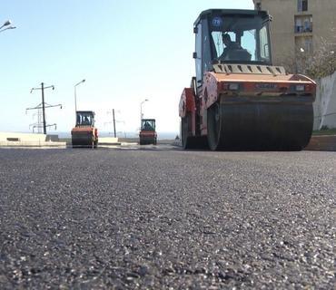 Səbail rayonunda yolların yenidən qurulmasına 1,9 milyon manat ayrılıb