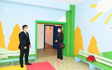 Şağan qəsəbəsində 212 saylı uşaq bağçasının yeni binası istifadəyə verilib