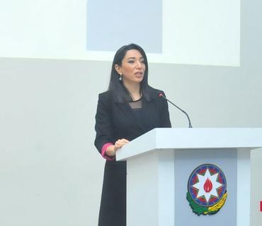 Ombudsman BQXK-nın Azərbaycan nümayəndəliyinin yeni rəhbərini qəbul edib